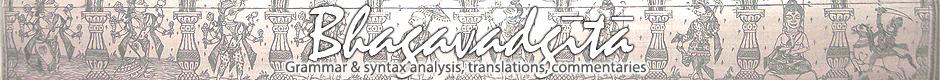 Bhagavadgita - Bhagavadgita – grammar analysis,syntax analysis, translations, commentaries